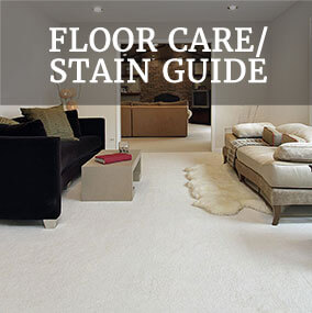 FLOOR CARE/ STAIN GUIDE